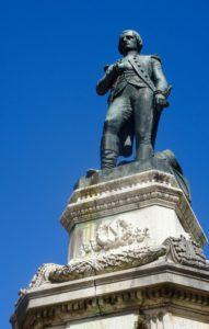 Statue de Bonaparte à Auxonne